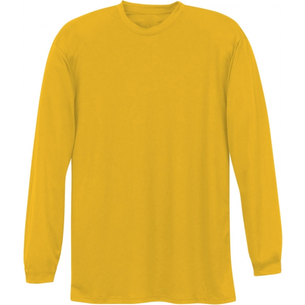 A4 Men's Performance Long Sleeve Crew (Gold)