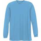 A4 Men's Performance Long Sleeve Crew (Light Blue) - A4 Tennis Apparel