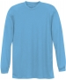 A4 Men's Performance Long Sleeve Crew (Light Blue) - A4