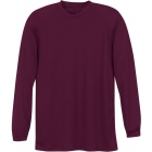 A4 Men's Performance Long Sleeve Crew (Maroon) - A4 Tennis Apparel