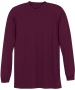 A4 Men's Performance Long Sleeve Crew (Maroon) - A4