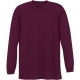 A4 Men's Performance Long Sleeve Crew (Maroon) - Men's Long-Sleeve Shirts