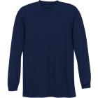 A4 Men's Performance Long Sleeve Crew (Navy) - A4 Tennis Apparel