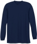 A4 Men's Performance Long Sleeve Crew (Navy) - A4