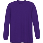 A4 Men's Performance Long Sleeve Crew (Purple) - A4 Tennis Apparel