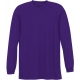 A4 Men's Performance Long Sleeve Crew (Purple) - Men's Long-Sleeve Shirts