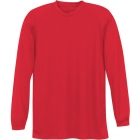 A4 Men's Performance Long Sleeve Crew (Scarlet) - A4 Tennis Apparel