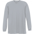A4 Men's Performance Long Sleeve Crew (Silver) - A4 Tennis Apparel