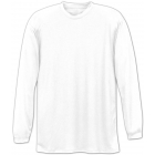 A4 Men's Performance Long Sleeve Crew (White) - A4 Tennis Apparel