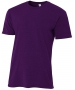 A4 Men's Performance Tri Blend Tee (Purple) - A4 Men's T-Shirts & Crew Necks Tennis Apparel