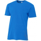 A4 Men's Performance Tri Blend Tee (Royal) - Men's Tops T-Shirts & Crew Necks Tennis Apparel