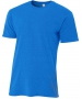 A4 Men's Performance Tri Blend Tee (Royal) - A4 Men's T-Shirts & Crew Necks Tennis Apparel