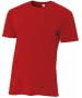 A4 Men's Performance Tri Blend Tee (Scarlet) - A4 Men's Apparel Tennis Apparel