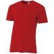 A4 Men's Performance Tri Blend Tee (Scarlet) - Tennis Online Store