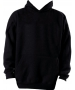 A4 Men's Fleece Hoodie (Black) - A4