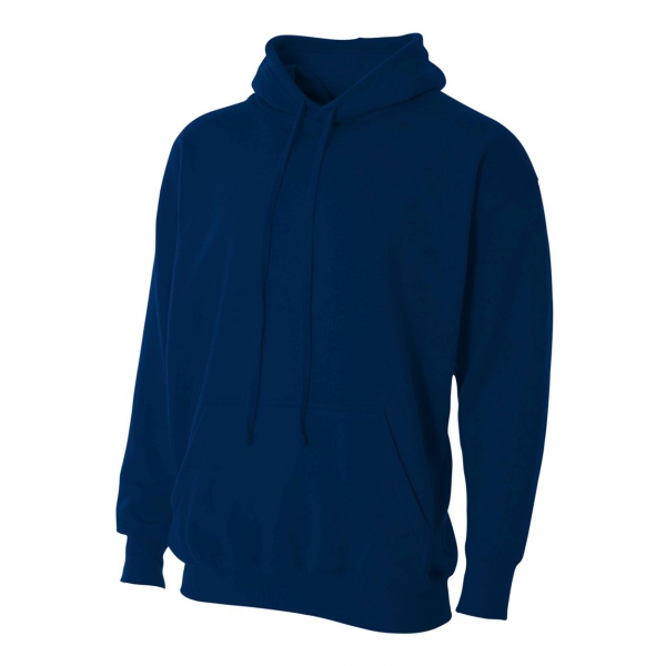 A4 Men's Fleece Hoodie (Navy)