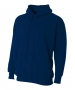 A4 Men's Fleece Hoodie (Navy) - A4