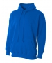 A4 Men's Fleece Hoodie (Royal) - A4 Men's Apparel Tennis Apparel