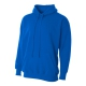 A4 Men's Fleece Hoodie (Royal) - Men's Outerwear