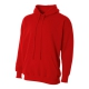 A4 Men's Fleece Hoodie (Scarlet) - Men's Outerwear