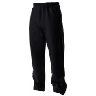 A4 Men's Open Bottom Pocketed Fleece Pant (Black) - Men's Outerwear Tennis Apparel