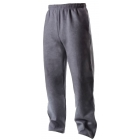 A4 Men's Open Bottom Pocketed Fleece Pant (Graphite) - A4 Tennis Apparel