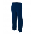 A4 Men's Open Bottom Pocketed Fleece Pant (Navy) - A4