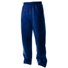 A4 Men's Open Bottom Pocketed Fleece Pant (Navy) - A4 Tennis Apparel