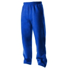 A4 Men's Open Bottom Pocketed Fleece Pant (Royal) - A4 Tennis Apparel