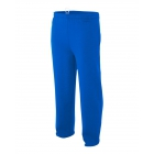 A4 Men's Open Bottom Pocketed Fleece Pant (Royal) - A4