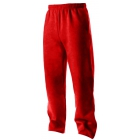 A4 Men's Open Bottom Pocketed Fleece Pant (Scarlet) - A4 Tennis Apparel