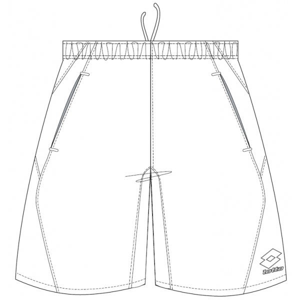 Lotto Men's Global Shorts (White)