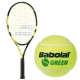 Babolat Nadal Jr Tennis Racquet, Green Tennis Ball Bundle - Junior Bundle Packs