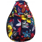 Jet Navy Floral Mini Backpack - Jet Mini Tennis Bags