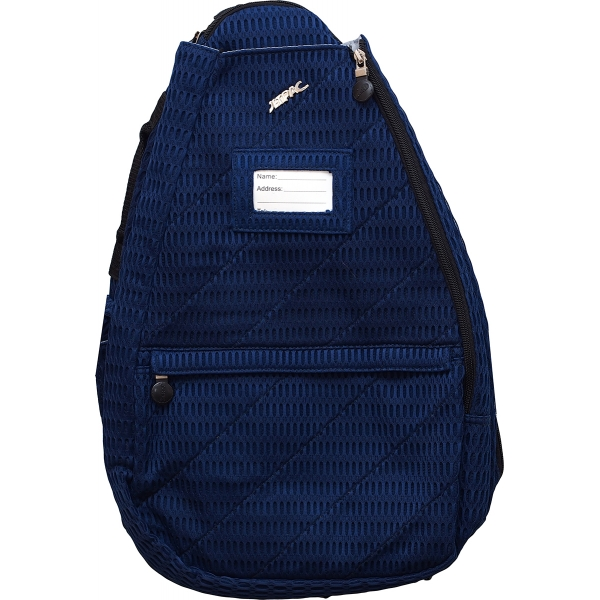 Jet Navy Mesh Small Sling Tennis Bag