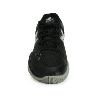 New Balance Men's MC1006BS (D) Tennis Shoes (Black/Silver)