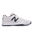 New Balance Men's MC786WB2 (D) (White/ Blue)  - New Balance Tennis Shoes