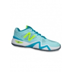New Balance Women's WC1296BB (D) Tennis Shoes (Sea Glass/Arctic Blue) - New Balance Tennis Shoes