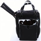 Cortiglia Brisbane Tennis Backpack (Black) - Cortiglia Tennis Bags