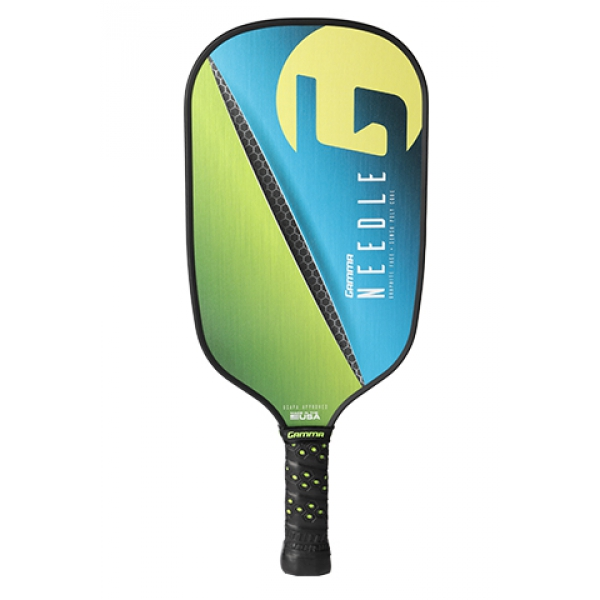 Gamma Needle Elongated Poly Core Pickleball Paddle (Pink)