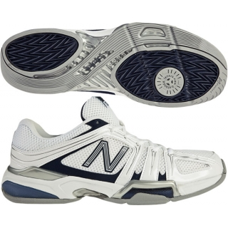 New Balance Men's MC1005 (2E) Tennis Shoes (Wht/ Nvy)