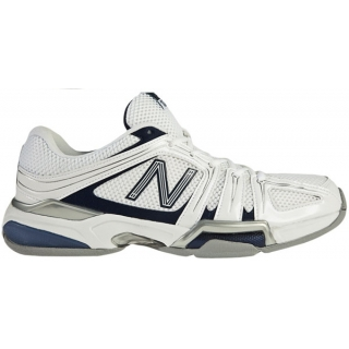 New Balance Men's MC1005 (4E) Tennis Shoes (Wht/ Nvy)