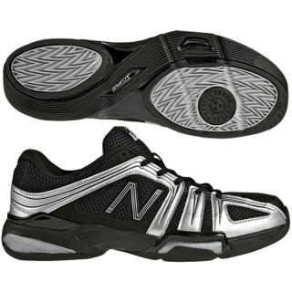 New Balance Men's MC1005 (4E) Tennis Shoes (Blk/ Sil)