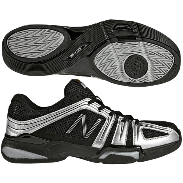 New Balance Men's MC1005 (2E) Tennis Shoes (Blk/ Sil)