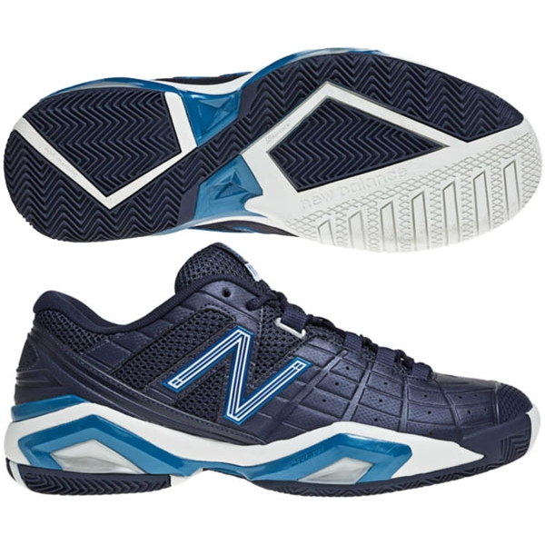 New Balance Men's MC1187PT (D) Tennis Shoes (Nvy/ Blu/ Wht)