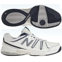 New Balance Men's MC656WN (D) Tennis Shoes (Wht/ Nvy)