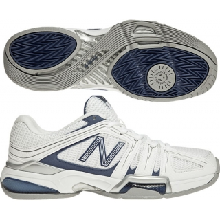 New Balance Women's WC1005 (D) Tennis Shoes (Wht/ Nvy)