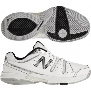 New Balance Women's WC656WS (2A) Tennis Shoe (Wht/ Sil)