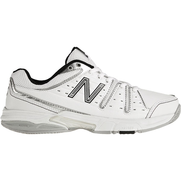 New Balance Women's WC656WS (B) Tennis Shoe (Wht/ Sil)