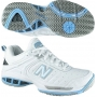 New Balance Women's WC804W (B) Shoes (Wht/ Lt Blu)